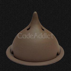 Lampe Eisala Terracotta Noire