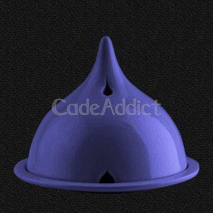 Lampe Eisala Bleue