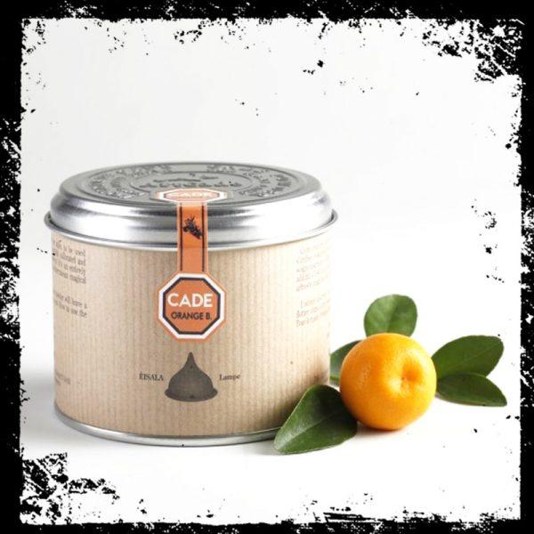 Poudre de cade et Orange Boite carton