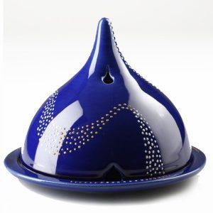 Eisala bleue décor Spirale