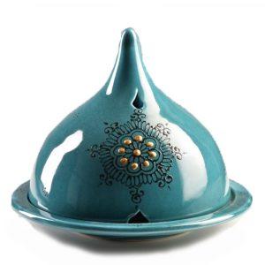 Eisala bleu canard décor Lou