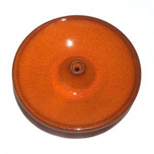 Porte encens en céramique émaillée range