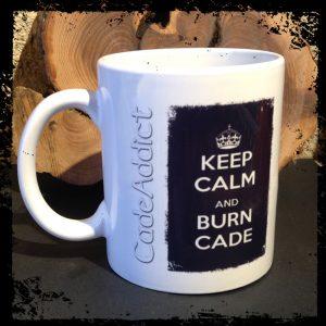 Mug Keep Calm Cade Addict